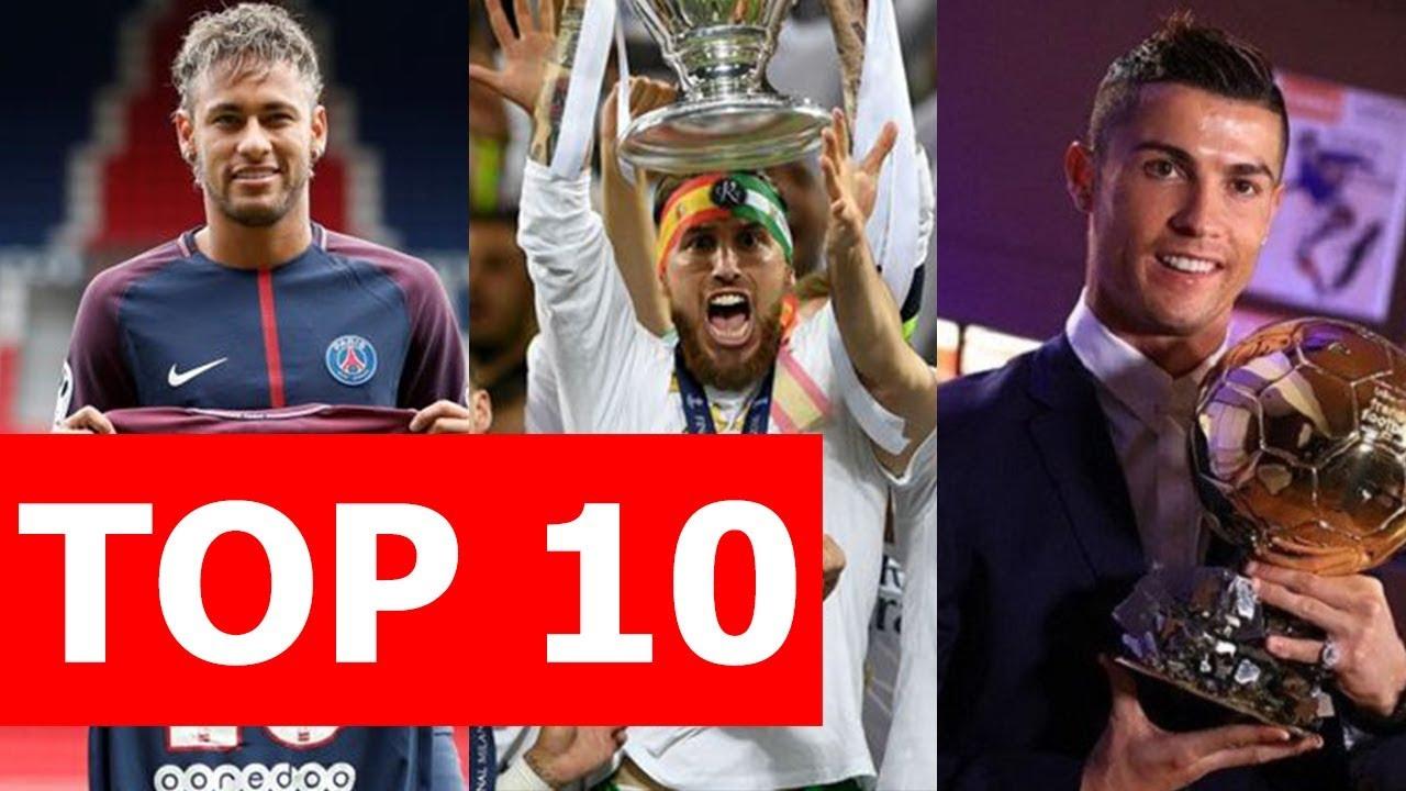 Top 10 sự kiện bóng đá nổi bật năm 2017