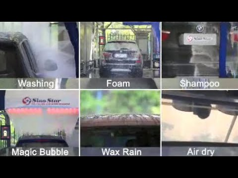 Auto Touch Free Car Washing Machine System