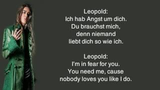 Mozart! The Musical - 11. Niemand liebt dich so wie ich (Eng subs)