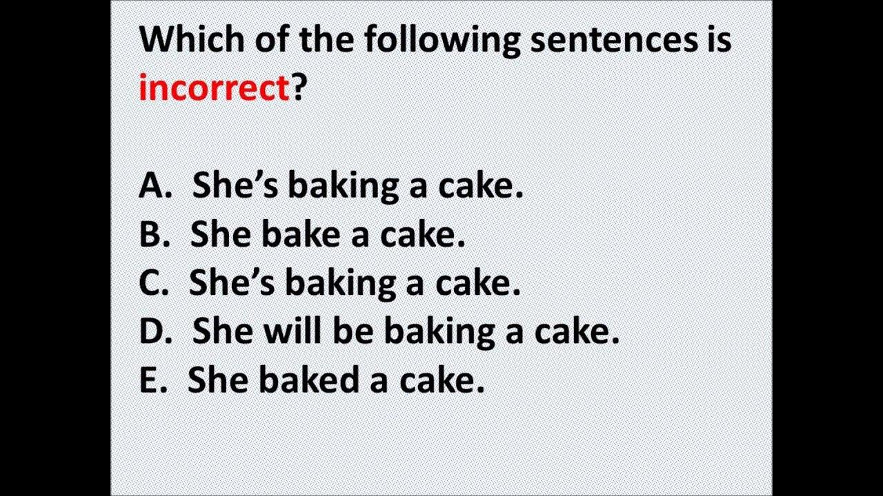 Esl Grammar Test Part 3 Intermediateadvanced By Damien Zellers