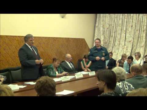 Поздравление главы управы района Марьино Т.Ю.Дорофеевой с наступающим Новым годом!