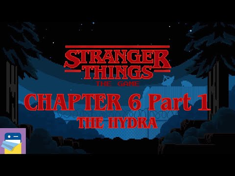 Stranger Things The Game: Chapter 6 The Hydra Part 1 Walkthrough &  iOS Gameplay (by BonusXP)