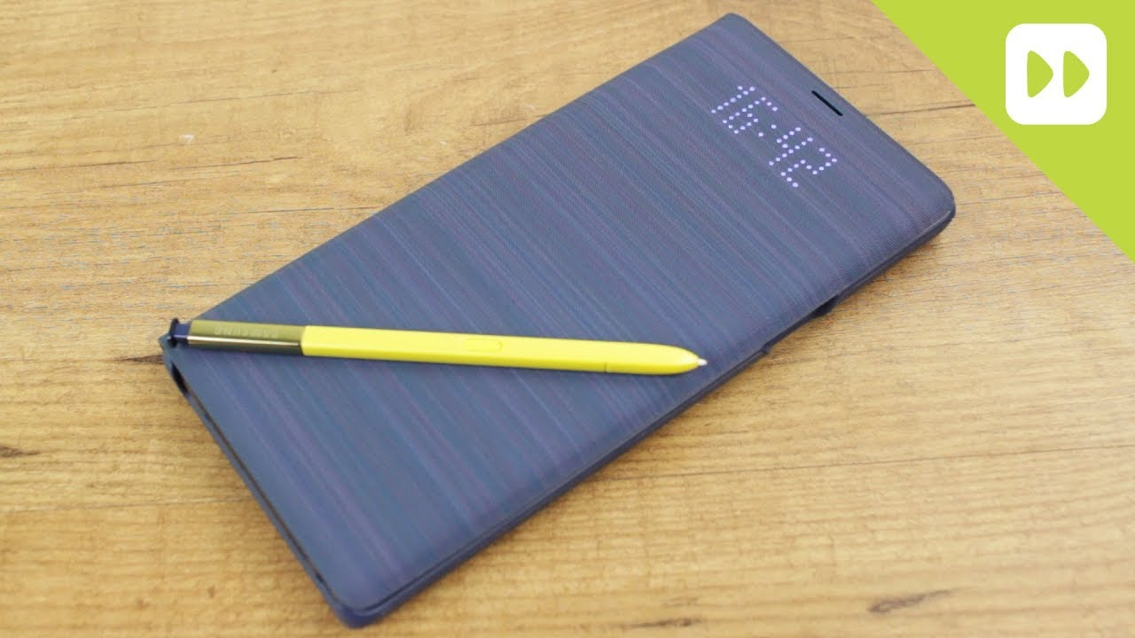 premium selection f0380 05679 Official Samsung Galaxy Note 9 LED Cover Case Review - Hands On