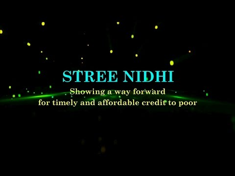 Streenidhi - Showing a way forward for timely & affordable credit to poor