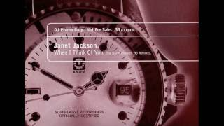 Janet Jackson – When I Think Of You (Classic Club Mix)