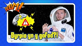 Alli di byrpio yn y Gofod | Can you burp in space?! | Boom! Welsh Science Show