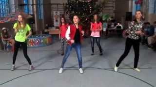 """Копия видео Флешмоб """"Feeling myself"""",""""Limba"""",""""Nosa nosa"""",""""Balada boa""""."""
