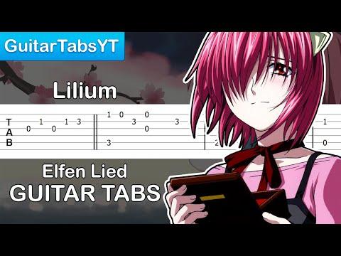 Elfen Lied - Lilium (Opening) Guitar Tutorial | Guitar Lesson + TABS