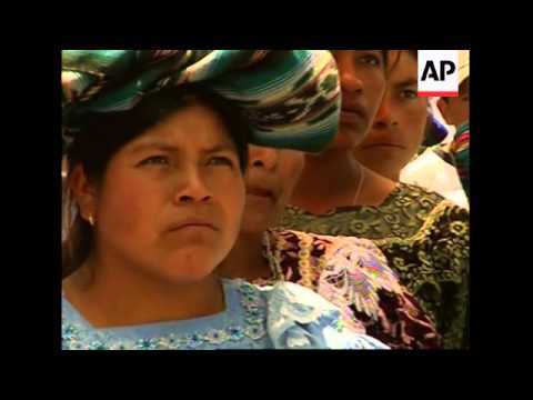 The indigenous people of Guatemala demand equality on Indigenous People's day