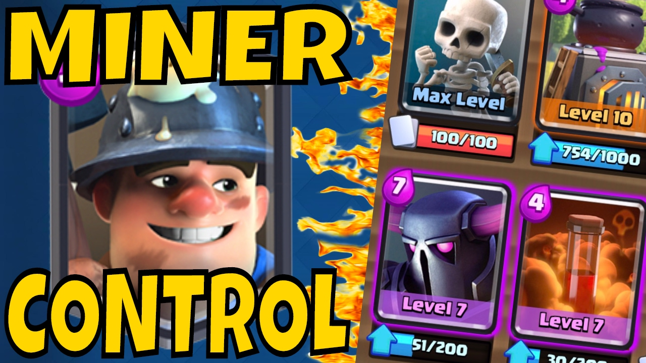 Best Miner Control Deck Kills The Meta W Pekka