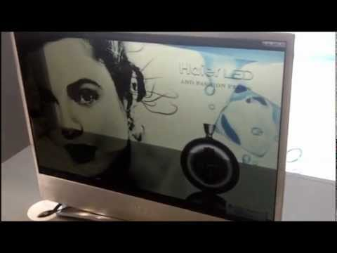 Haier Transparent Organic TV, televisione trasparente OLED - IFA 2011