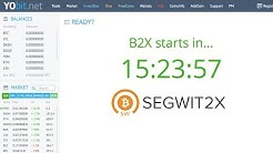 YoBit - Bitcoin Segweet [B2X] Balances (1:1 BTC) Will Be Added In 18 HR's | B2X $1170