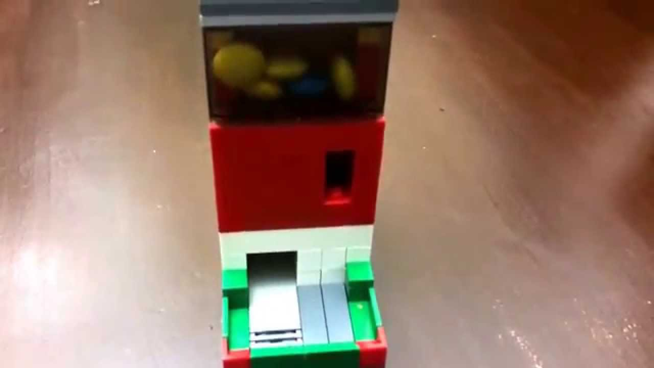 how to make a lego machine that takes money
