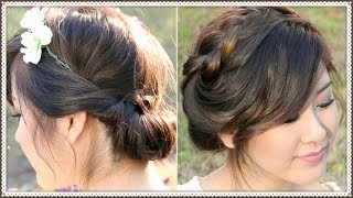 2 Cute Spring Updo Hairstyles! Thumbnail