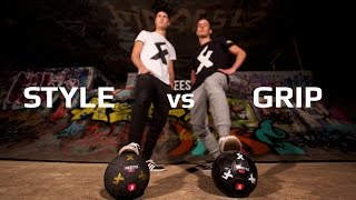 Style vs grip - 4freestyle