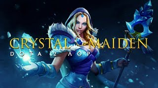 Дота 2 Лор: Crystal Maiden