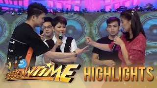 It's Showtime: Vhong and Anne face off in rock-paper-scissors