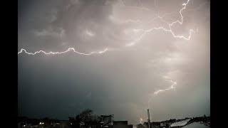 ASMR // Extreme weather - Thuderstorm in Dusseldorf July 2009