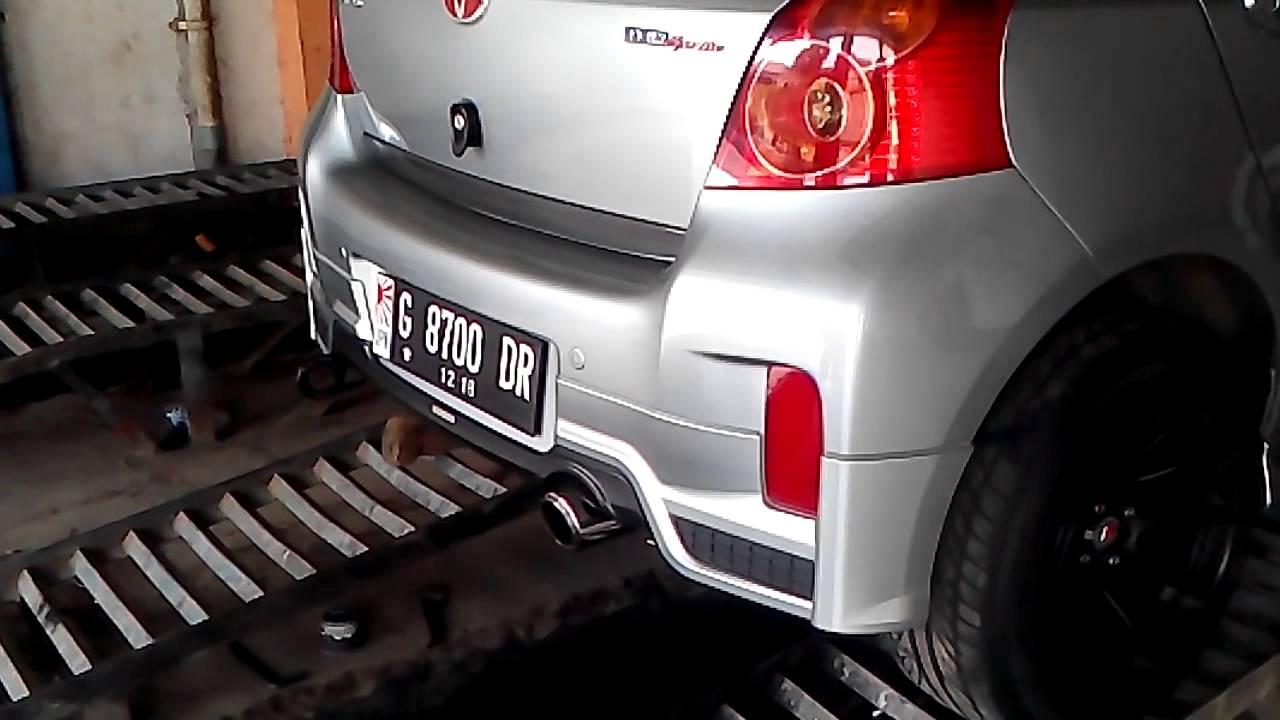 Toyota Yaris Trd Exhaust All New Kijang Innova Venturer 1 5 M T Ironcrafts Performance Muffler Youtube