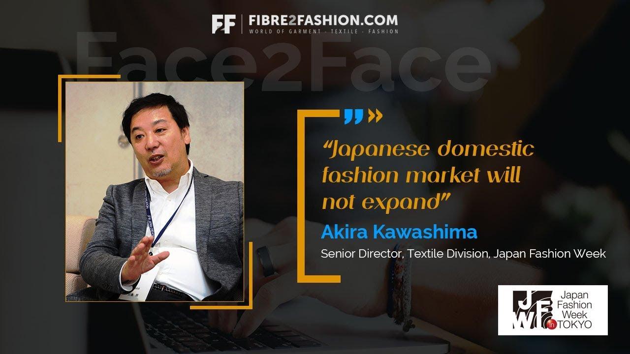 Face2Face with Akira Kawashima, Senior Director,Textile Division- Japan Fashion Week Organization