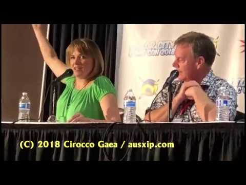 Lucy Lawless and Rob Tapert Motor City Comic Con