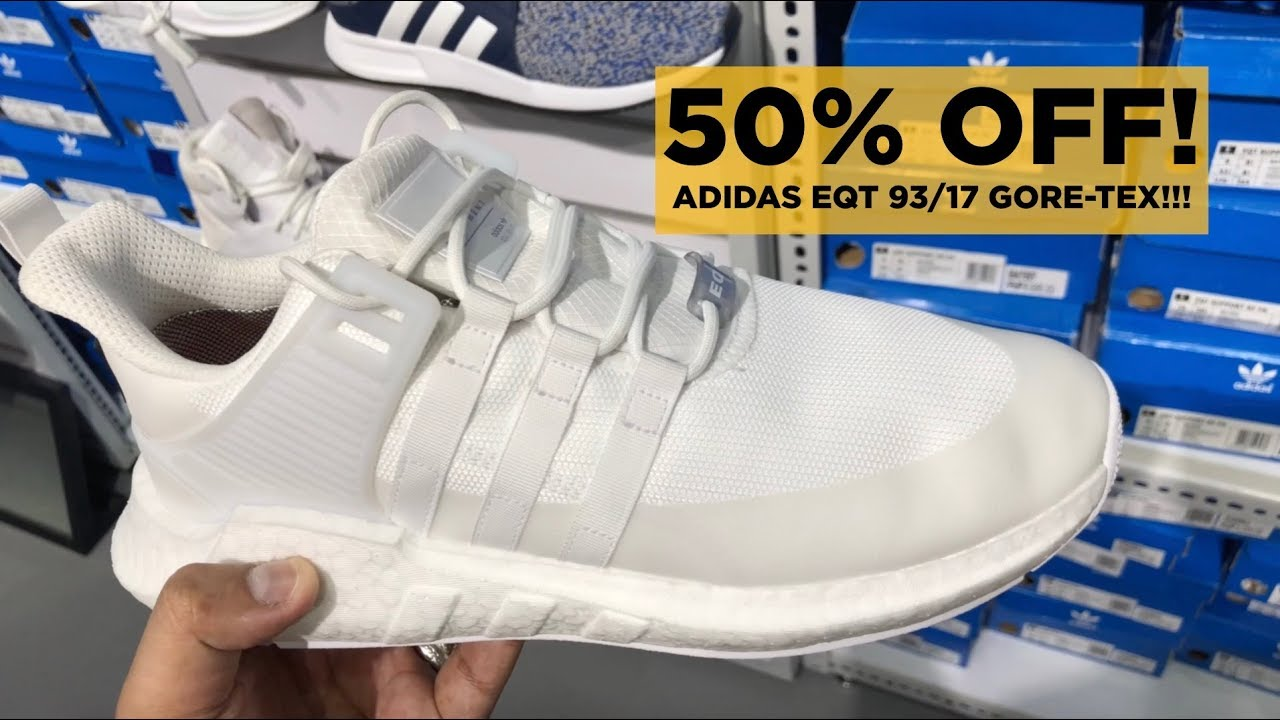 ADIDAS OUTLET RAID: 8 DOPE SNEAKERS UNDER 5,000 PESOS! (PART 12)