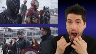 Captain America: Civil War - Super Bowl trailer review