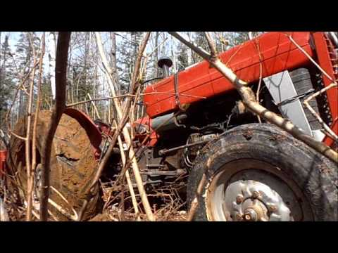 massey 135 rescued wmv