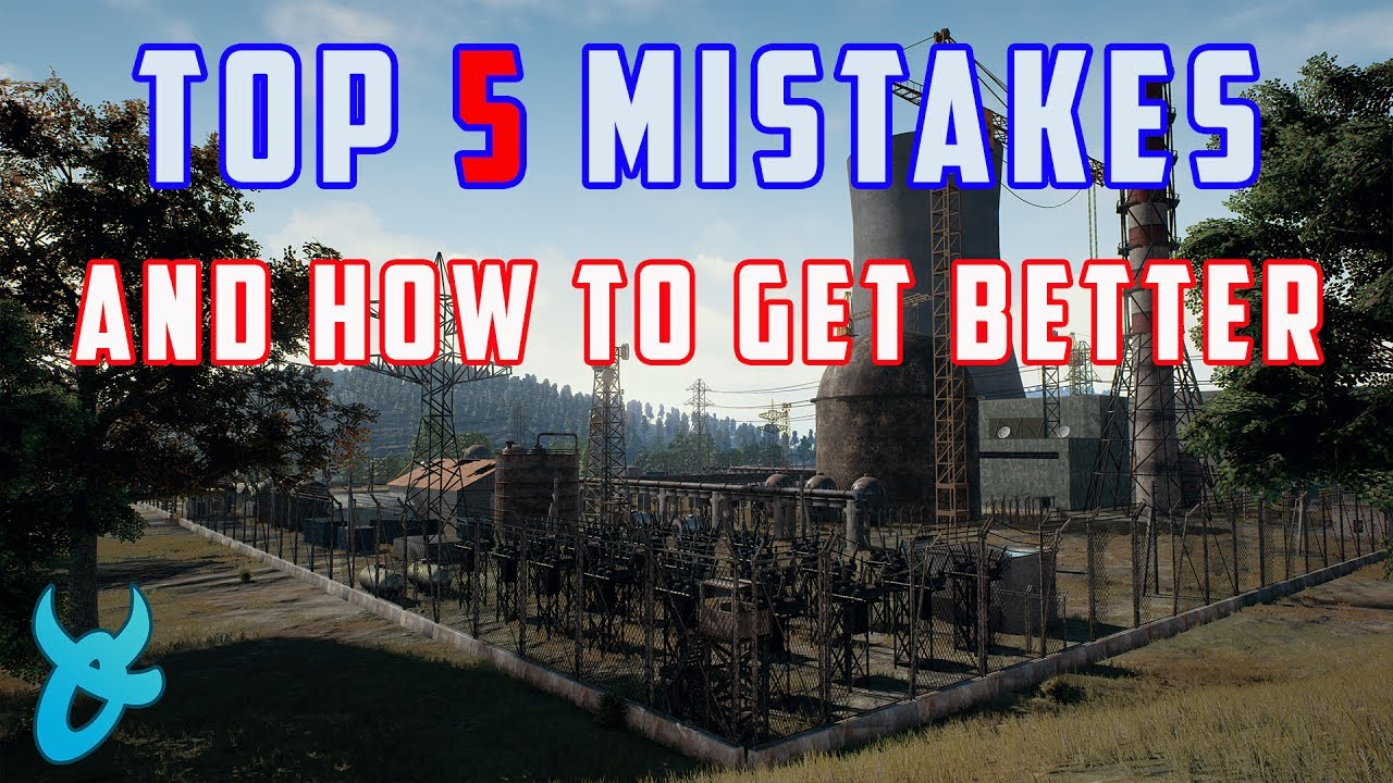 Playerunknown S Battlegrounds Maps Loot Maps Pictures: TOP 5 MISTAKES AND HOW TO GET BETTER