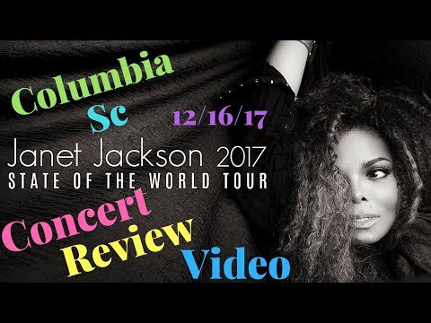 Janet Jackson | State of the World Tour Columbia Sc Review | James Dixon