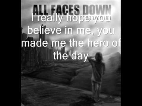 All Faces Down - Hero of the Day