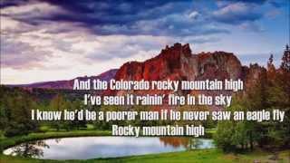 Rocky Mountain High + John Denver + HD