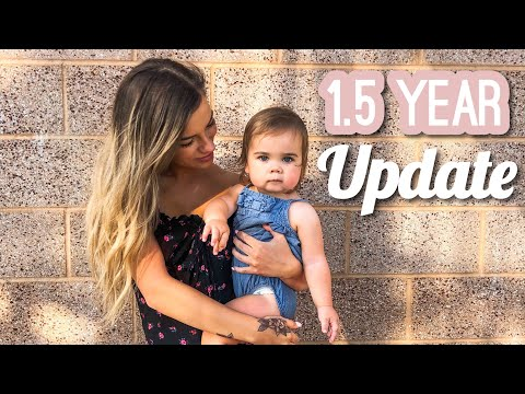 Blakely's 18 Month Toddler UPDATE
