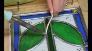 Stained glass lessons @ mandywoodstainedglassandart.com