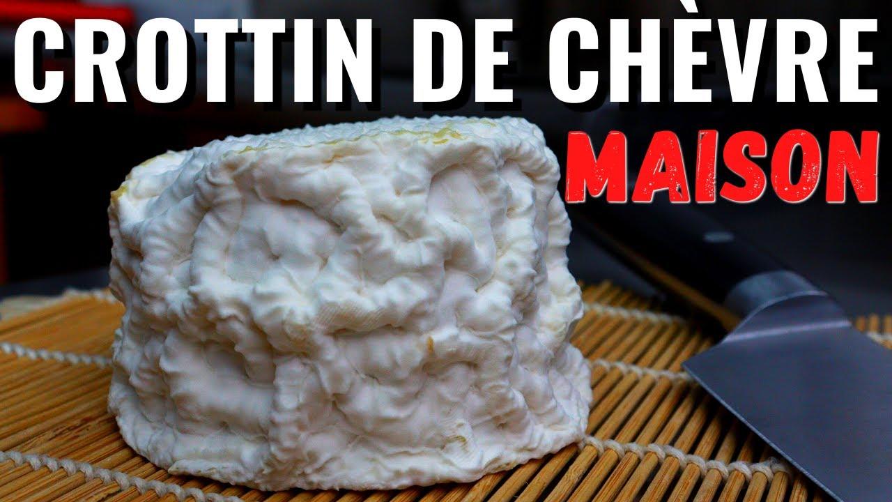 Comment faire un CROTTIN DE CHÈVRE à la maison (Toutes les étapes du lait au fromage!)