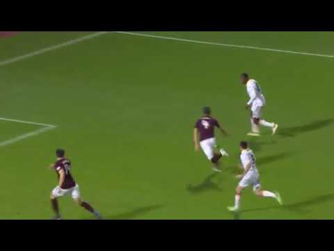 Hearts keeper plays a blinder!