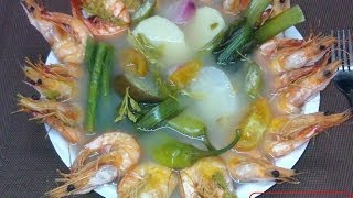 Sinigang Na Hipon / Filipino Style Recipe