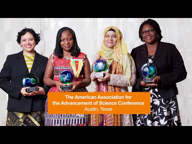 2018 OWSD-Elsevier Foundation Awards for Women in Science