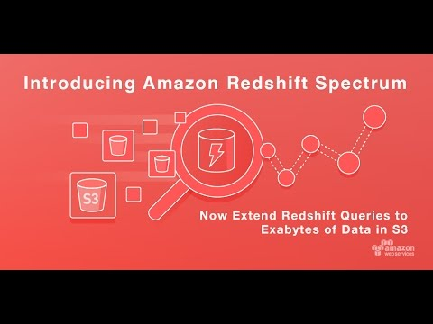 AWS Summit Series 2017 - San Francisco: Introducing Amazon Redshift Spectrum