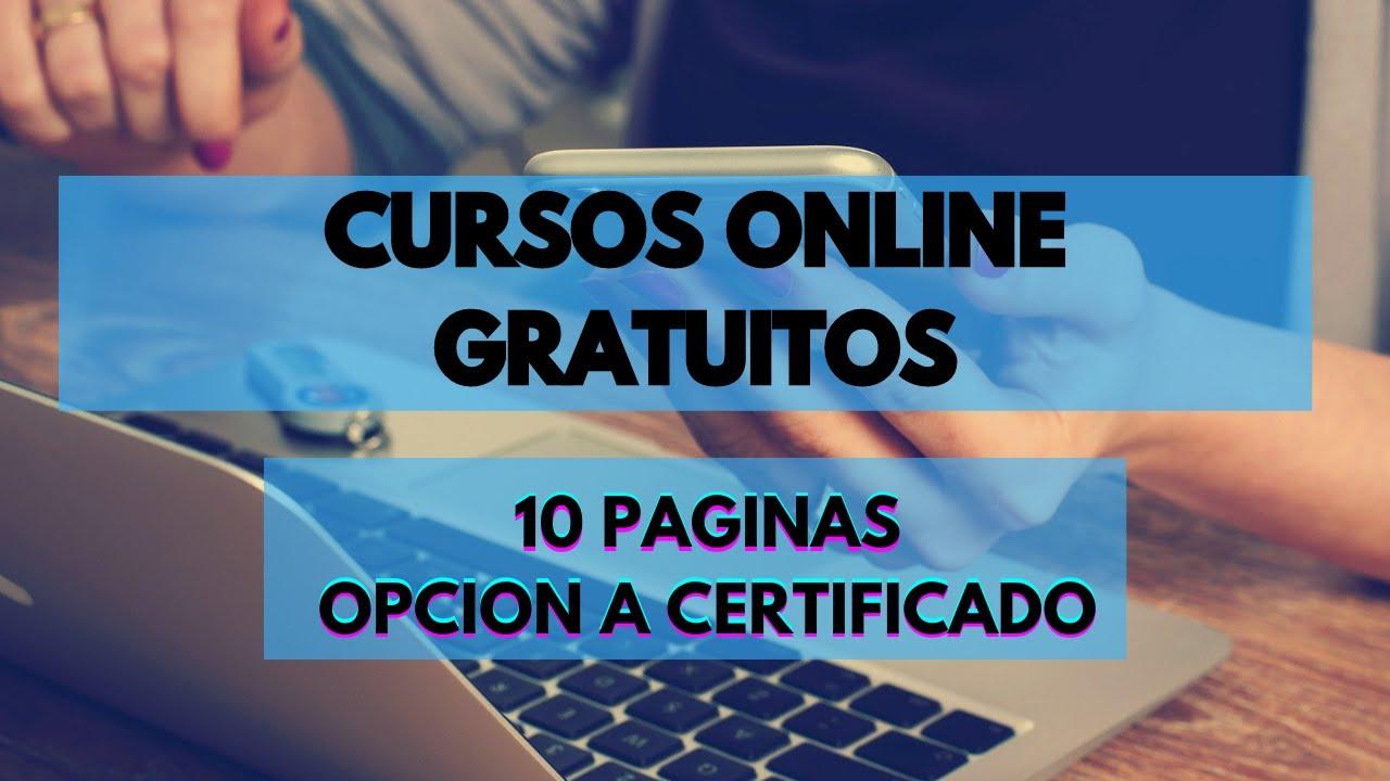 Cursos Gratuitos Online Con Certificado En Espanol 2020 10 Paginas Web Google Harvard Y Mas Youtube