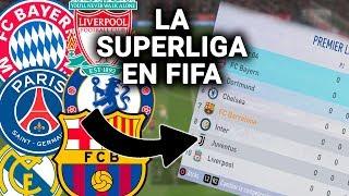 COMO HACER una SUPERLIGA en FIFA... con DESCENSO y MUCHOS EQUIPOS | Quién es el MEJOR o el PEOR?