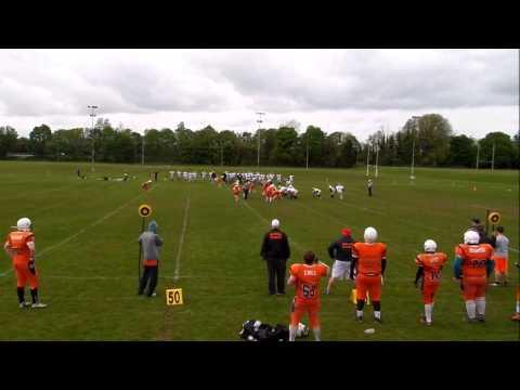 Craigavon Cowboys vs South Dublin Panthers 17/5/15 Highlights