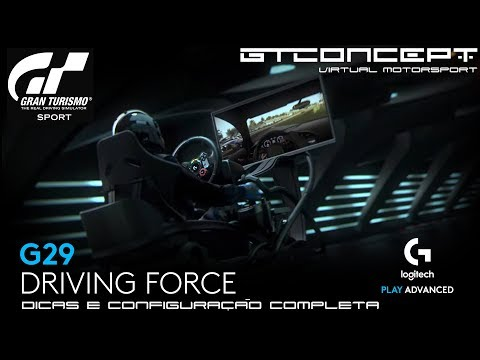 GRAN TURISMO SPORT - Dicas e Configuração Completa do volante Logitech G29 thumbnail