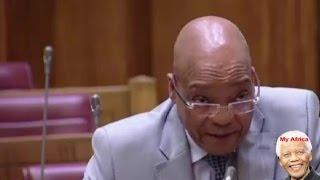 Jacob Zuma Answer Questions: Nkandla, Nkandla, Nkandla