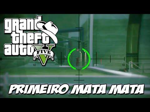 GTA 5 Online (PS4) - Primeiro Mata Mata de 2015: Sniper é SHOW
