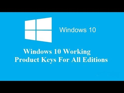 Windows 10 product key 100% working!!! TRY NOW.. - YouTube