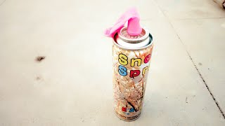 New Idea : In the Balloon Snow Spray | Filling Snow Spray in |Holi Life hacks|Snow Spray Life Hacks|