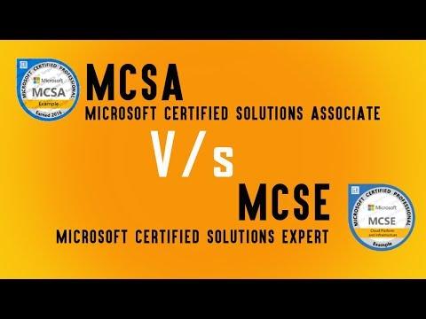 MCSA Vs MCSE Certification | Job Opportunity, Salary Package