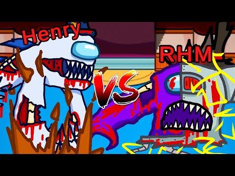 HENRY Vs RHM (Among Us)