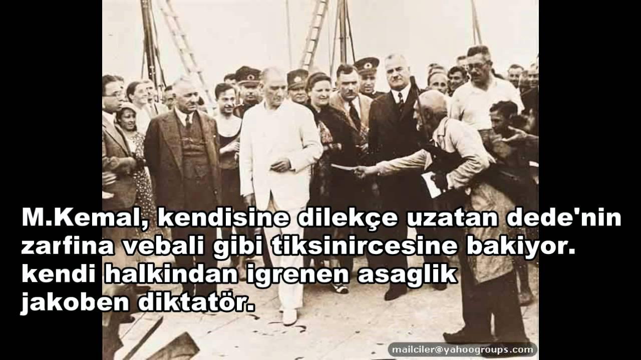 Jakoben Diktatör Mustafa Kemal'in Halkına Bakışı